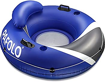 Water Float for Adults with Headrest, 2 Cup Holders. 2 Heavy-Duty Handles