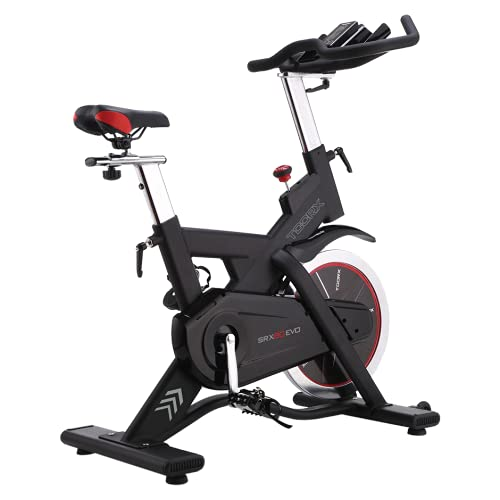 Toorx Indoor Cycle Speed Bike - SRX-80 EVO con Ricevitore Wireless + Fascia cardio