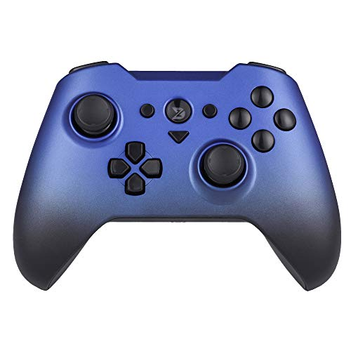 ZD-O Wireless Bluetooth Game Controller for Switch,Fire TV, Windows 7 8 10 PC/Lapto/Android Smartphone Tablet VR TV Box/, Dual Shock Gamepad Motion controls included 6-axis gyro(Blue)