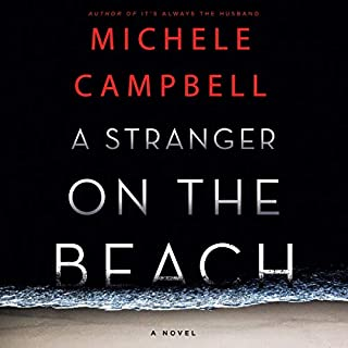 A Stranger on the Beach audiobook cover art