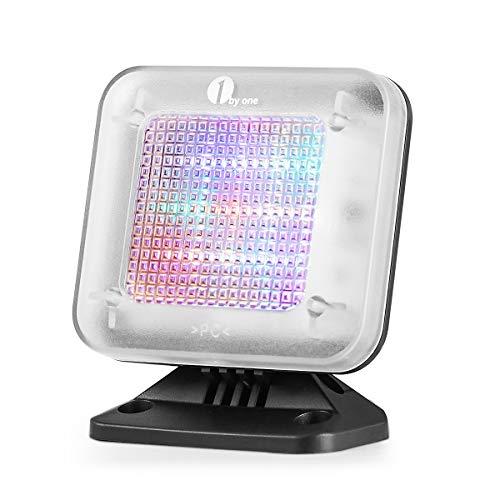 1 by One Fake TV, Simulador TV –Protección de antirrobo, Seguridad del hogar, Sensor de luz y Temporizador