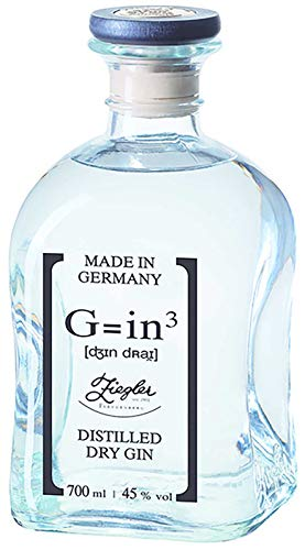 Ziegler - G=in3 Classic Distilled Dry Gin 45% - 0,7l