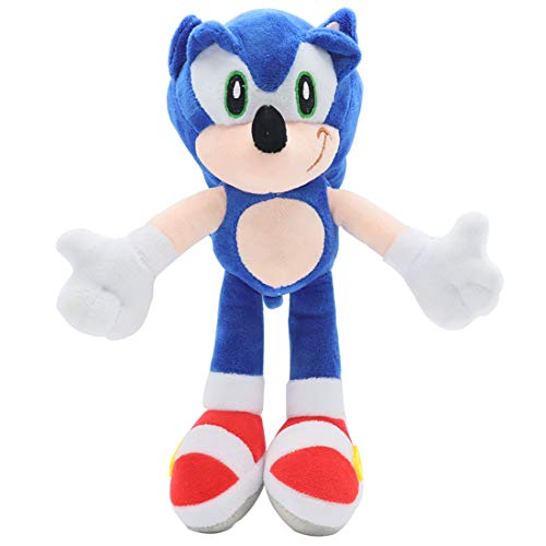 GRUSEMI Classic Sonic Plush Soft Figures Toys for Kids Boys Girls