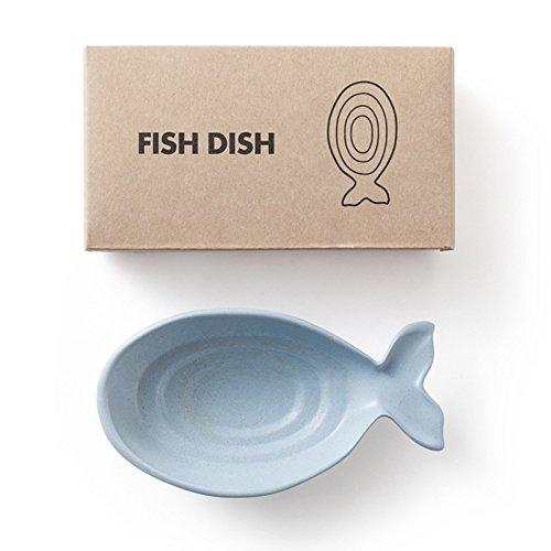 Plato con forma de pez, respetuoso con el medio ambiente, diseño de...