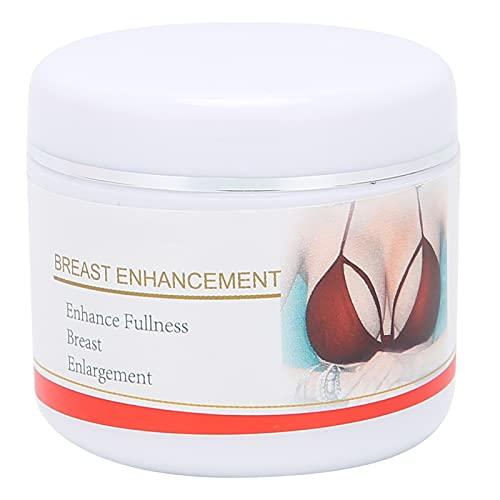 Crema para realzar los senos, Crema reafirmante para realzar los senos, Crema moldeadora para masajes, Apta para todo tipo de pieles, con una curva corporal perfecta