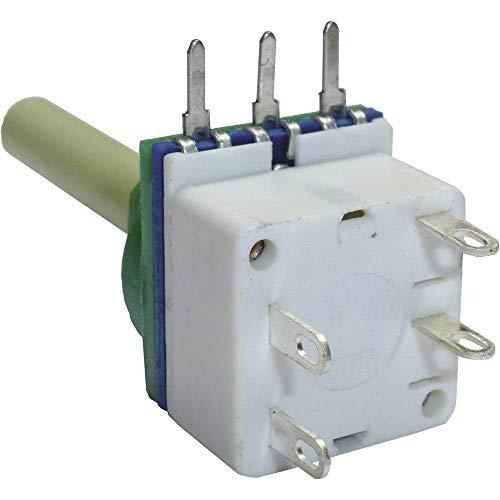 Potentiometer Service 7515 Dreh-Potentiometer mit Schalter Mono 10 kΩ 1 St.
