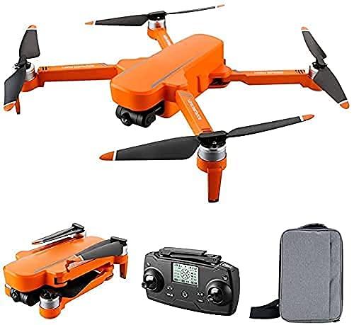 Drone con fotocamera Drone GPS pieghevole con fotocamera per adulti UHD 6K,Quadcopter con motore brushless,Ritorno automatico a casa,Seguimi,30 minuti di volo,Ampia gamma di controllo,Incluso (aranci