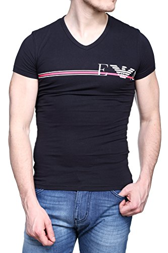 Emporio Armani Underwear Herren 1108107P525 Sporttop, Schwarz (Nero 00020), Medium