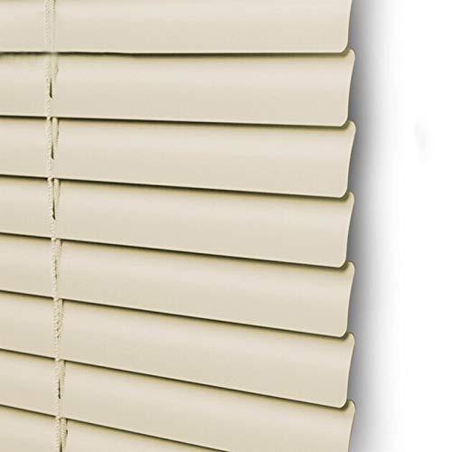 """JLXJ Persianas Venecianas Mini Beige Persiana de Aluminio, 100% Apagón Cortinas de Ventanas para Dormitorio, Sala de Estar, Cocina, 60cm / 80cm / 100cm / 120cm De Ancho (Size : 60×160cm(23.6""""×43.3))"""