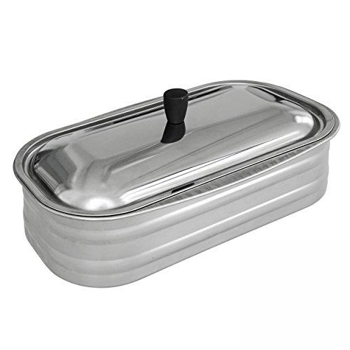 Vaschetta acciaio Inox 4.5 nordica