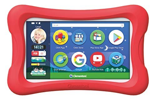 Clementoni 16616 Primo Clempad 9 7 Zoll Tablet für Kinder, Mehrfarbig
