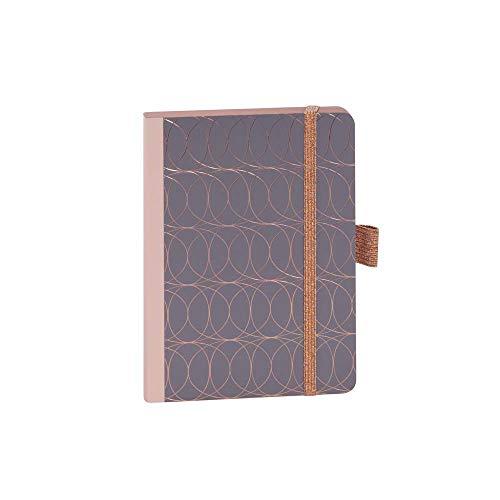 ARTEBENE Notizbuch Notizheft Schreibheft Schreibbuch Muster Kreise A6