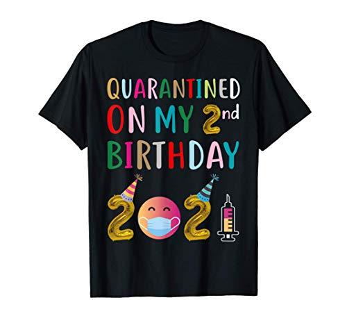 Quarantined on My 2nd Birthday 2021 T-Shirt