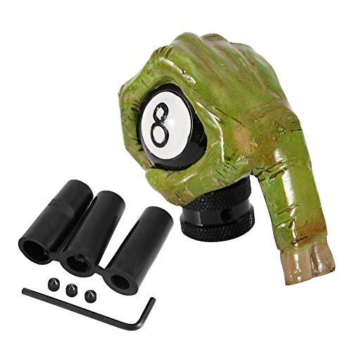 Qqmora Manueller Totenkopf Schaltknauf, Exquisite Craft Universal Hand Skull Gangschaltung Umweltfreundlich für Erwachsene für Fahrzeug für Auto