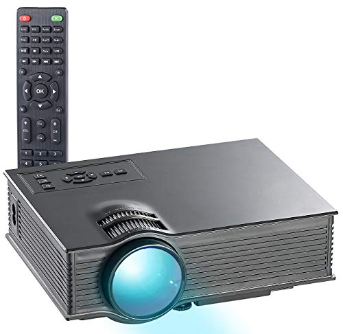 SceneLights Mini Beamer: LB-8300.wl, SVGA, Miracast, DLNA & AirPlay, 800 x 480 (WLAN Beamer)