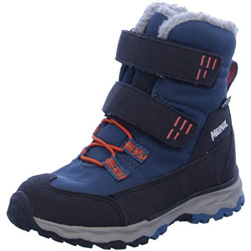 Meindl Jungen Boots Altino Junior Kombi blau Gr. 34