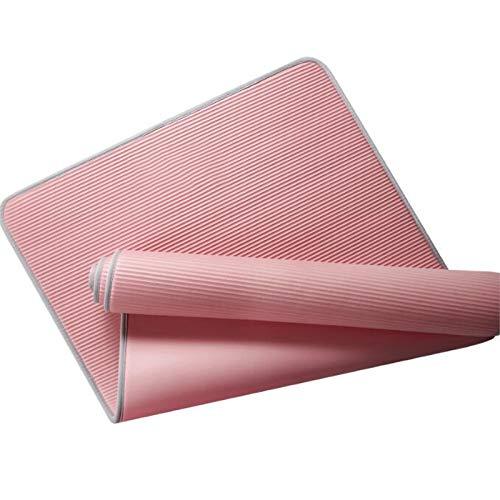 JJTXSQSMQM Fitness Mat Yoga Mat Edge Covered Non Slip Matt Sports Tear Resistant Nbr