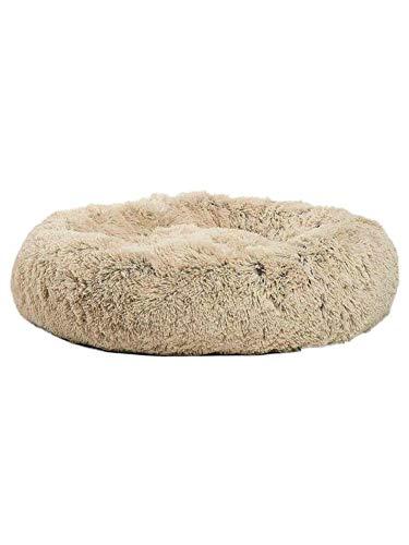 Pet beruhigendes Bett Runde Nest warme weiche Plüsch - komfortable Shag - Vegan Fur Donut
