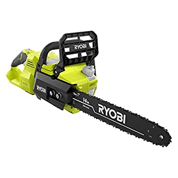 Ryobi 14 in 40-Volt Baretool Brushless Lithium-Ion Cordless Chainsaw 2019 Model RY40530 Li-Ion 40V  Battery and Charger Not Included