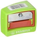 STABILO Kunststoffspitzer, rot-grün, 1er Pack