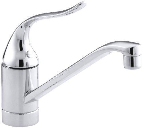 KOHLER K-15175-F-CP Coralais Single Control Kitchen Sink Faucet, Polished...