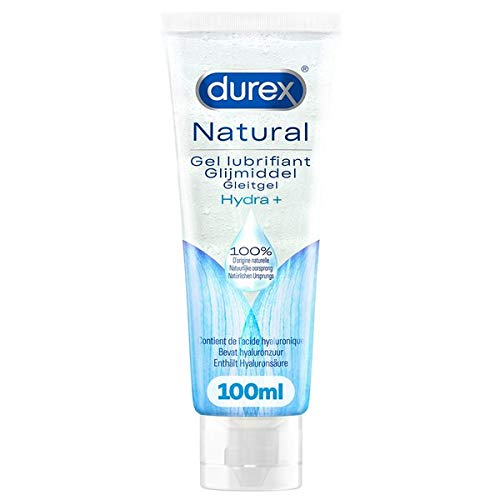 Durex - Lubrifiant Naturel Hydratant à l'Acide Hyaluronique - 100ml