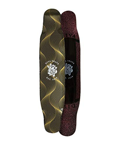 Great Deal! XUEYING-KickScooter Longboard DC Flat Flower Entry Professional Plating Skateboard Brush...