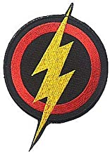 The Avenger DC Comics The Flash Lightning Shield Military Hook Loop Tactics Morale Embroidered Patch