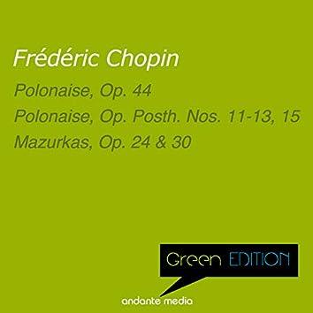 Green Edition - Chopin: Polonaises & Mazurkas, Op. 24 & 30