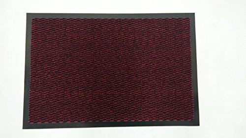 INTERHOME ZERBINO Tappeto ASCIUGAPASSI - Rosso - 40 x 60 cm