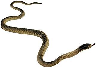 DIVISTAR - Serpiente Artificial de Goma Suave Hecha a Mano Realista para Fiestas de bromas