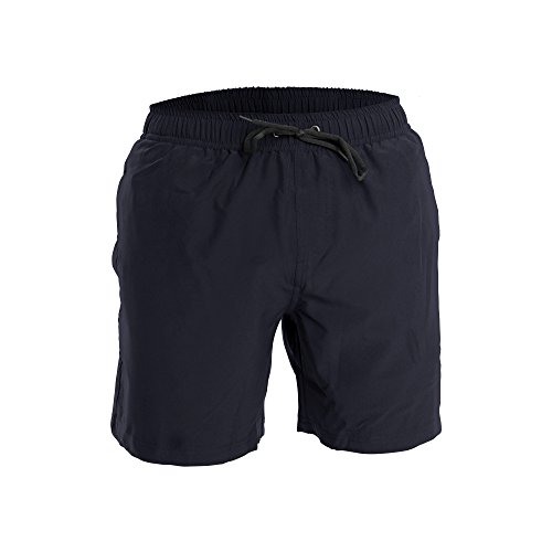 Men's Swim Trunks and Workout Shorts - S - Navy - Perfect Swimsuit or Athletic Shorts for The Beach, Lifting, Running, Surfing, Pool, Gym. Boardshorts, Swimwear/Swim Suit for Adults, Men's Boys