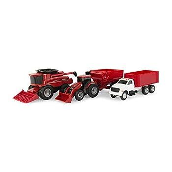 ERTL Case IH Harvest Farm Toy Set  1 64 Scale