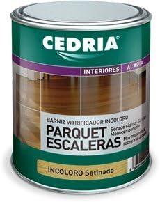 CEDRIA BARNIZ PARQUET Y ESCALERAS SAT. 4 L