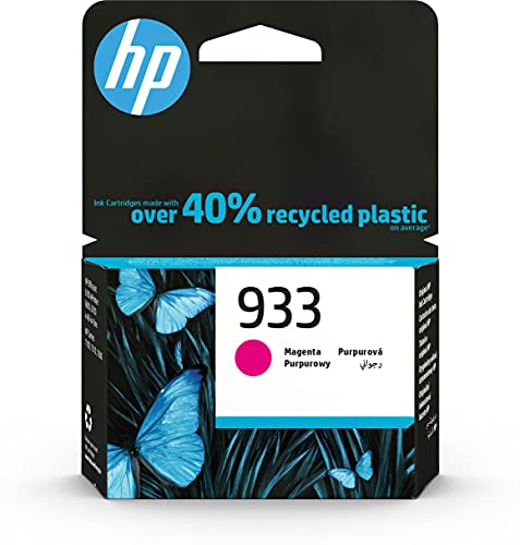HP 933 CN058AE MAGENTA CARTUCCIA ORIGINALE 330 PAGINE PER HP OfficeJet 6100 7610 7612 HP OfficeJet 6600 6700 7110 7510