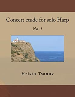 Concert Etude for Solo Harp