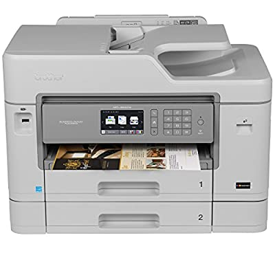Brother MFC-J5930DW All-in-One Color Inkjet Printer, Wireless Connectivity, Automatic Duplex Printing, Amazon Dash Replenishment Enabled