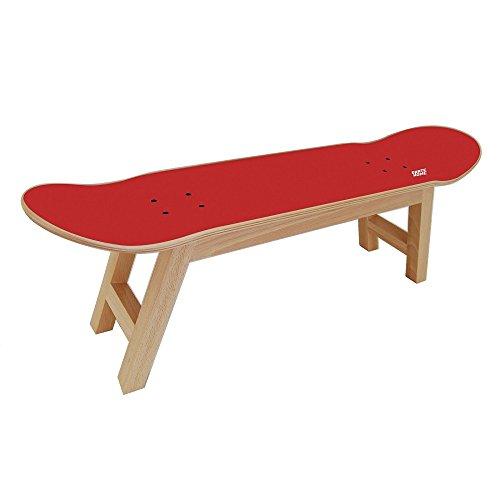 Geschenk für Skater, Skateboard hocker rot