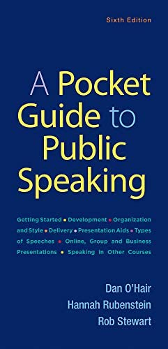 A Pocket Guide to Public Speaking product image