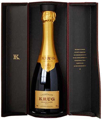 Krug Champagne Grande Cuvée Brut in Geschenkpackung (1 x 0.375 l)