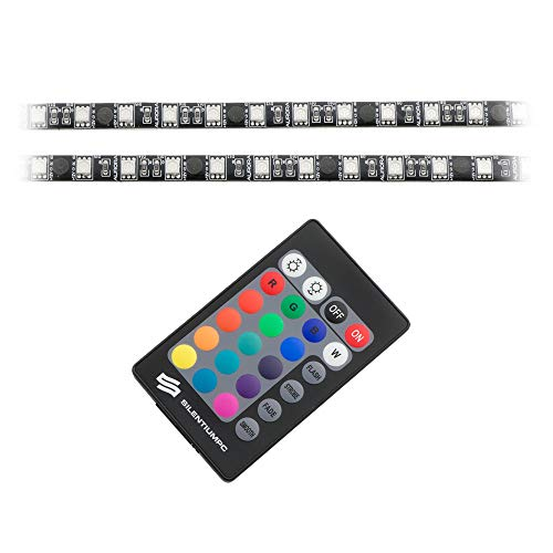 SilentiumPC Aurora II remote RGB-302 LED-strip voor verlichting van de PC behuizing