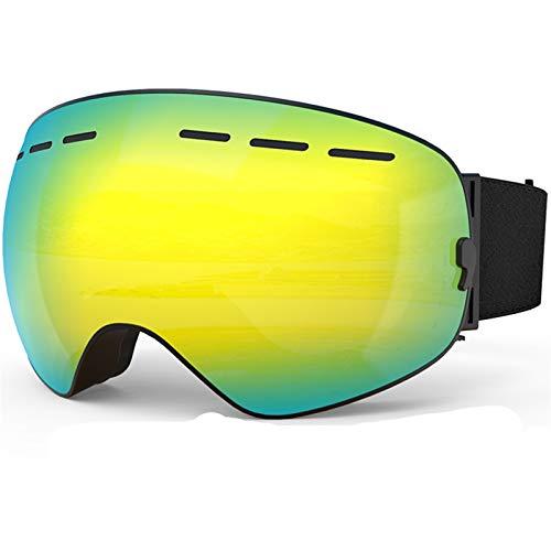 AFANGMQ Gafas de esquí Gafas Unisex Gafas de esquí Capas Dobles UV400 Anti-Niebla Mascarilla Big Ski Mascaras Esquí Snow Snowboard Gafas for Hombres Mujeres y Jóvenes, Niños, Niños y Chicas,