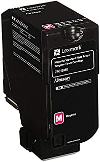 Lexmark High Yield Magenta Toner Cartridge, 16000 Yield (84C0H30)