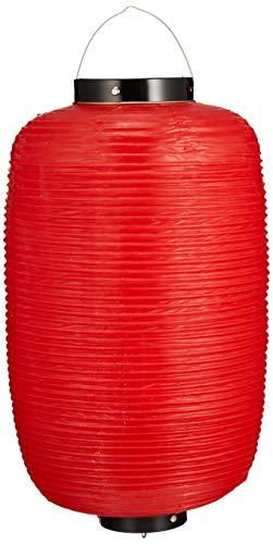カドキ ビニール提灯長型 《9号》 赤ベタ b6 ビニール 日本 YTY0193Q