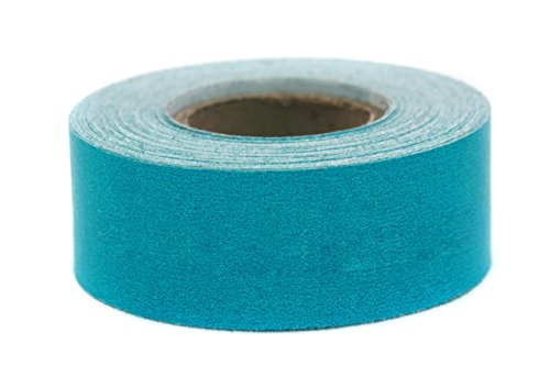 ChromaLabel 1 inch Color-Code Labeling Tape   500 inch Roll (Teal)