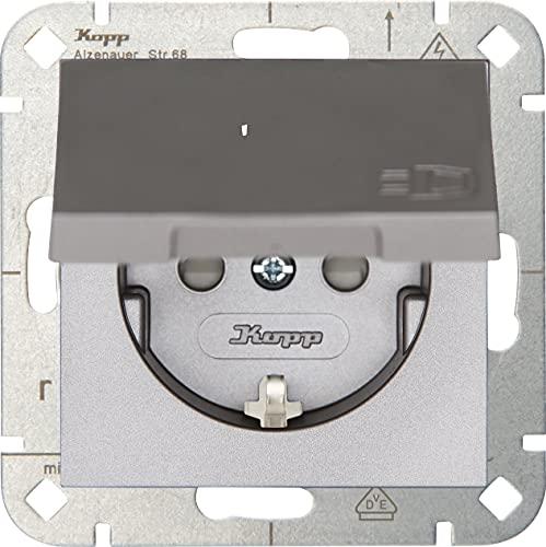 Kopp 940147004 Enchufe con protección de Contacto