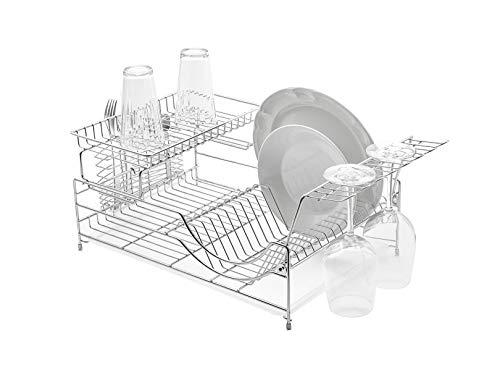 Escurridor de platos de acero, extra grande | SK-1006 - BAUM BROTHERS