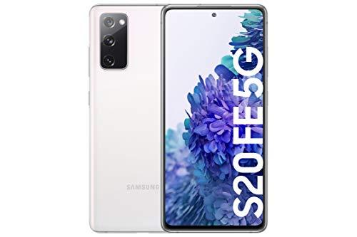 Oferta de Samsung Smartphone Galaxy S20 FE con Pantalla Infinity-O FHD+ de 6,5 Pulgadas, 6 GB de RAM y 128 GB de Memoria Interna Ampliable, Batería de 4500 mAh y Carga rápida Blanco (Version ES)