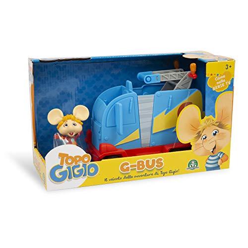 Grandi Giochi, Topo Gigio G-Bus con Personaggio Esclusivo Incluso, TPG08000