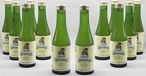 Schlaf gut Murmel Schlaftrunk auf Pflanzenbasis Endlich wieder gut schlafen (12 Flaschen)